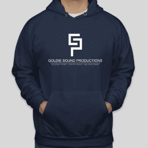 Goldie Sound Productions Blue Hoodie